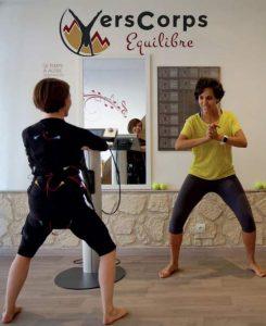 VersCorps Equilibre propose de l'Electro-Myo-Stimulation : la nouvelle activité sportive et de bien être pour la rentrée !