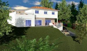 Les Bastides Lauragaises construisent la première maison individuelle en cours de labellisation E3C2 en Occitanie