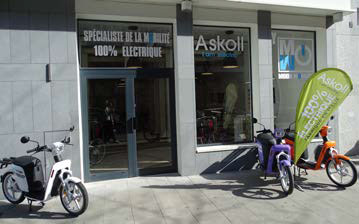 Askoll Vélo electrique magasin Grenoble