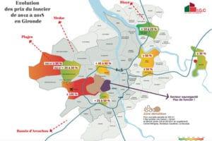 Étude : explosion des prix et pénurie de terrains en Gironde en 5 ans
